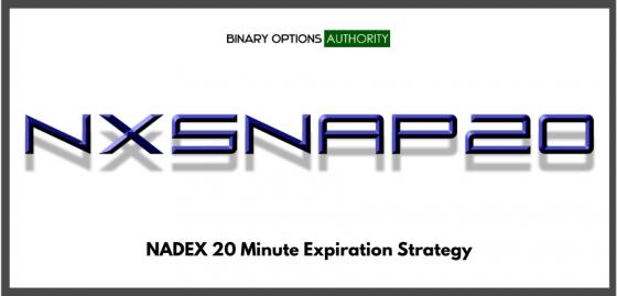 NXSNAP20 NADEX 20 Minute Expiration Strategy