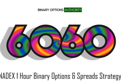 6060 NADEX 1 Hour Binary Options Strategy