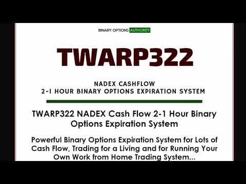 TWARP322 NADEX 1 Hour Binary Options Expiration System Review